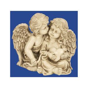 Anjeli sediaci so srdcom 21,5c