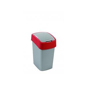 Kôš odpadkový 25L šedočervený