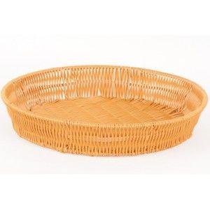Košík pletený veľký okrúhly