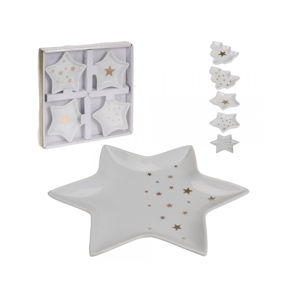 Misky porcelán STAR 4ks