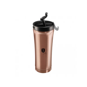 Termohrnček 500ml Black Silver