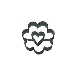 Vykrajovačka kvet/srdiečko